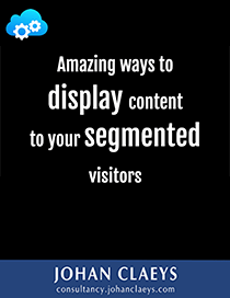 Amazing ways to display content to your segmented visitors